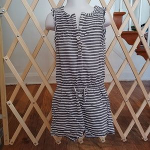 4/5 girls L.O.G.G striped romper